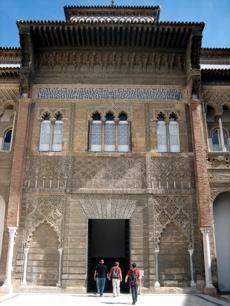 Alcazar entrance