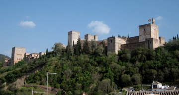 Alhambra viewed from Albaicin