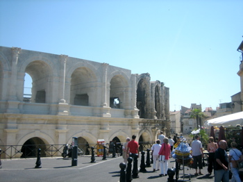 Roman arena in Arles, Provence