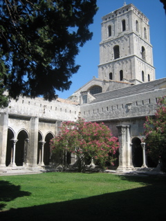 St. Trophime Cloisters in Arles, Provence