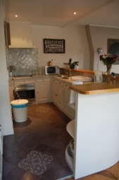 Kitchen at 60 rue des Ecoles