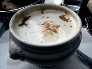 creme lentilles soup