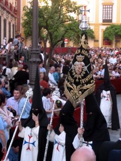 Nazarenos in Seville