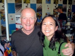 Photo with Oz Clarke