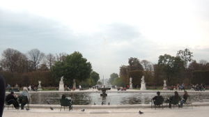 Primo Seating in Tuileries Gardens