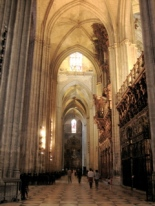 Seville Cathedral on Easter Sunday