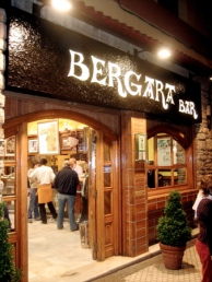 Bergara Bar in San Sebastian