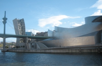 Bilbao Guggenheim - ship's view