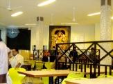 Waiting area at Delhi domestic terminal