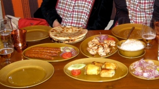 Dinner at Peshawri at Mughal Sheraton