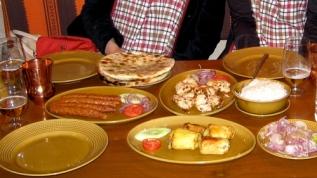 Dinner at Peshawri at Mughal Sheraton