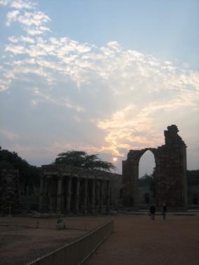 Qatab minar complex, Delhi, India