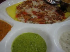 uthappam, south Indian specialty