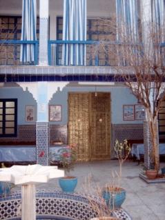 synagogue entrance, Marrakesh, Morocco