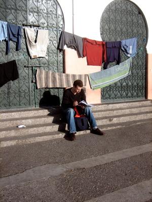 Jon in Marrakech