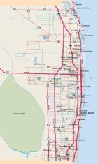 Palm Beach County Map
