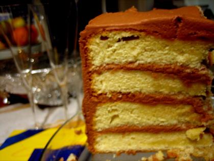 Birthday Cake, February 2007