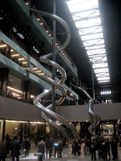 Slides at the Tate Modern, London