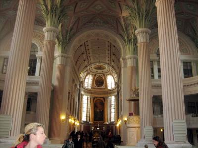 Interior of St. Nicholas Church, Leipzig
