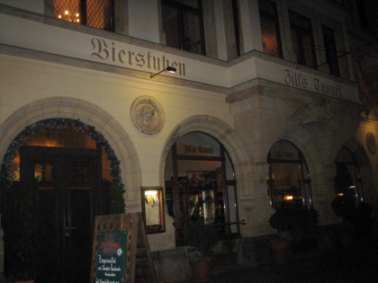 Zill's Tunnel restaurant, Leipzig