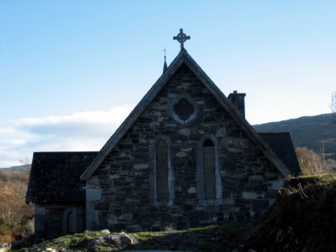 Church along the Ring of Kerry