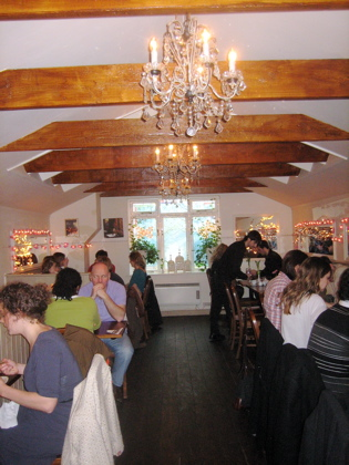 Hache Restaurant, Interior