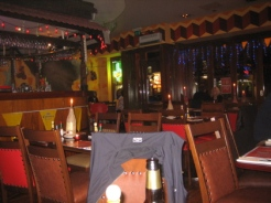 Interior of Tequila Tex Mex