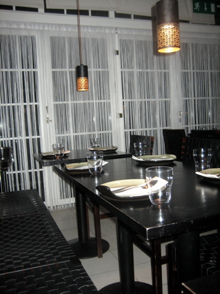 Isarn Restaurant interior, Islington