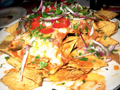 Serious Nachos at the Tequila Tex Mex