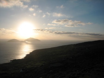 Sunset over the Atlantic, Ring of Kerry