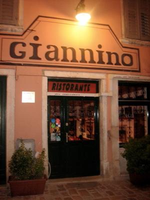 Giannino restaurant, Rovinj, Croatia