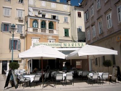 Osteria, Rovinj harbor, Croatia