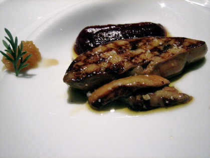 foie gras, citrus and beetroot confit, Mirazur, Menton, French Riviera