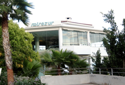 Le Mirazur exterior, Menton, French Riviera