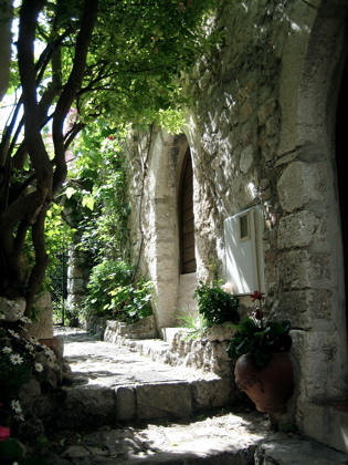Walkway in Eze Village