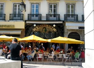 A Brasileira in Chaido, Lisbon, Portugal