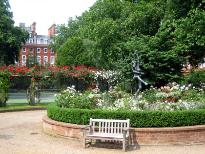 Cadogan Square Gardens, London, UK