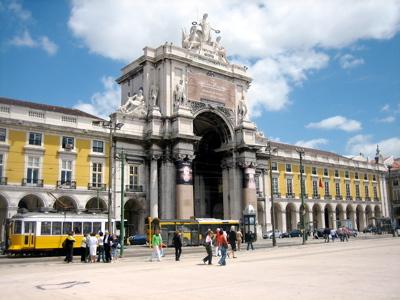Praca de Comercio, Lisbon, Portugal