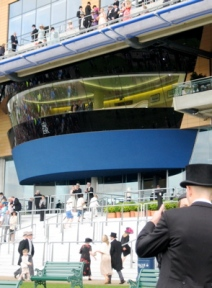 Queen's Box at Royal Enclosure, Ascot