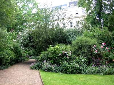 Stanley Crescent Gardens, Notting Hill, London