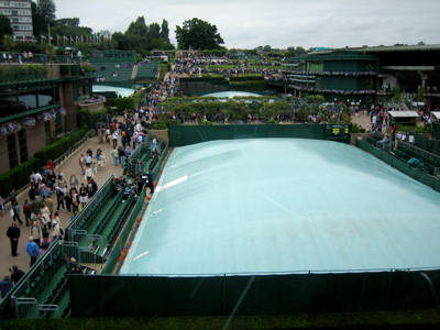 Court 14 Cover and Henman Hill, Wimbledon
