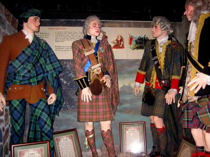 Creepy Kilt Mannequins, Edinburgh