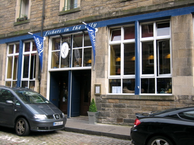 Fishers in the City restaurant, Edinburgh, Scotland