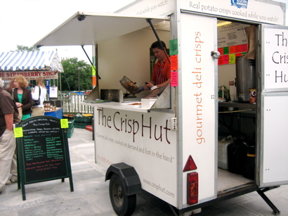 The Crisp Hut, Edinburgh Farmer's Market