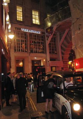 Veeraswamy restaurant exterior, London