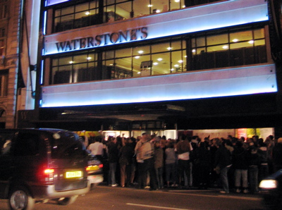 Waterstone's bookstore at Piccadilly Circus