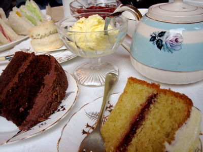 Afternoon tea at Shipp's Tearooms
