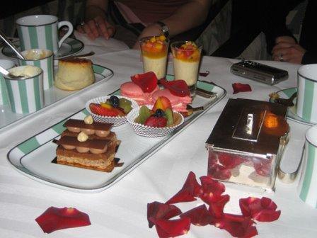 Claridge's Tea pastries