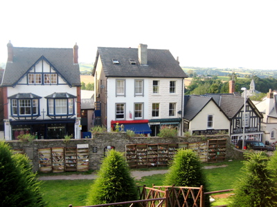 Hay-on-Wye town centre