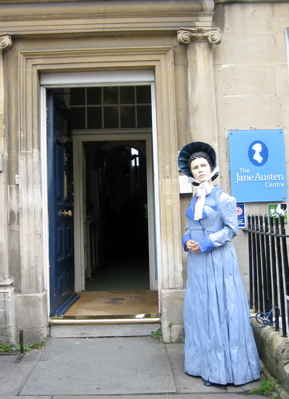 Jane Austen Centre mannequin, Bath